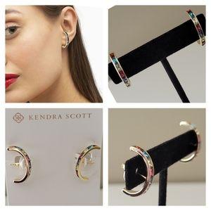 NWT Kendra Scott Jack Stud Earrings Gift Receipt